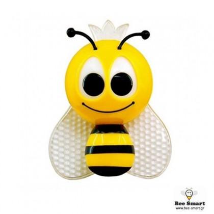 Μελισσούλα φωτάκι νυκτός LED by www.bee-smart.gr