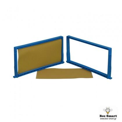 Πλαίσιο πλαστικό κυψέλης by www.bee-smart.gr