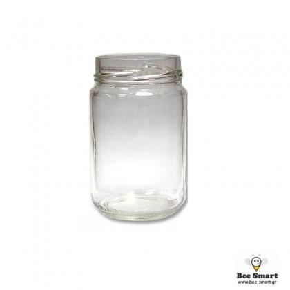 Βάζο γυάλινο 314 ml βαθύ (μισόκιλο) by www.bee-smart.gr