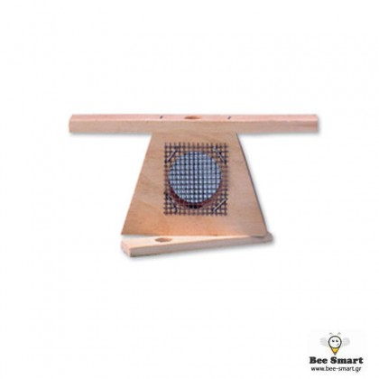Kλουβί μεταφοράς βασίλισσας ξύλινο τριγωνικό by www.bee-smart.gr